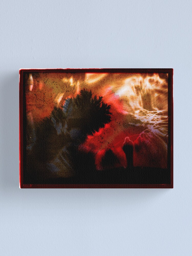 Alternate view of Y E S Canvas Print