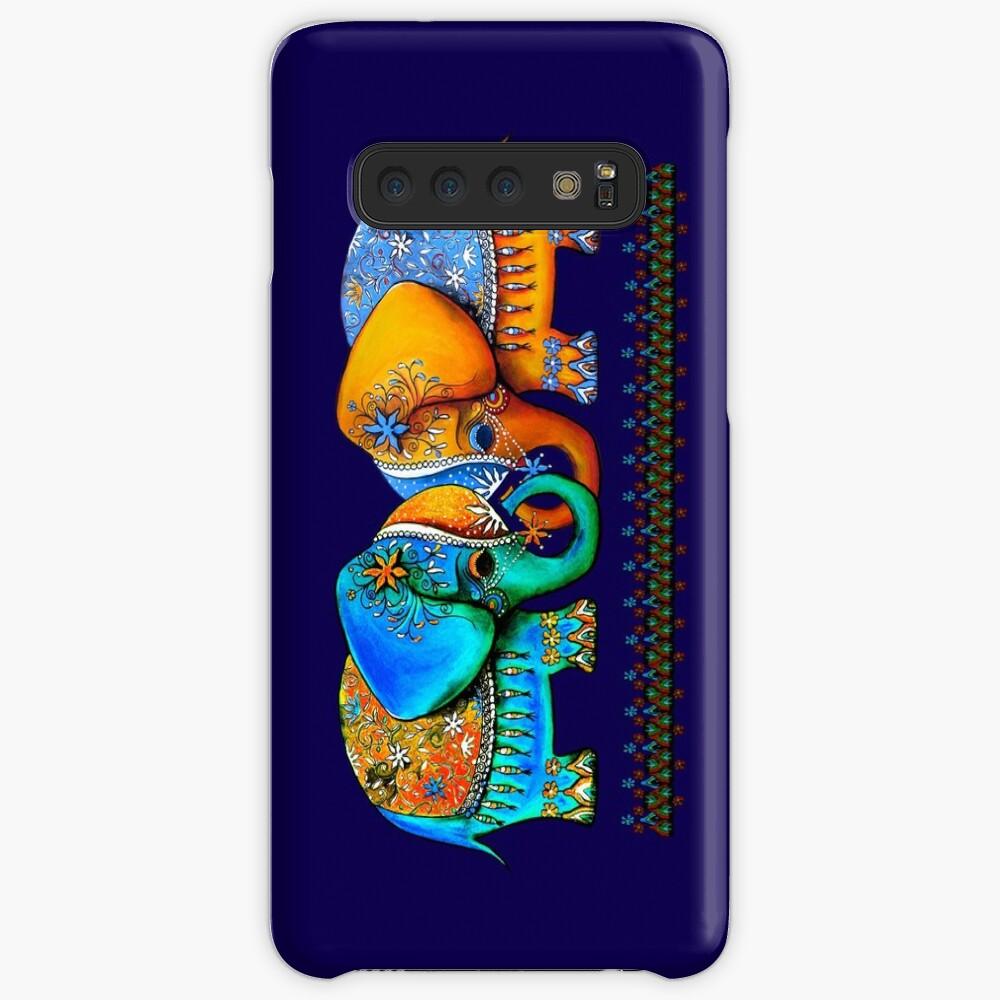 Littlest Elephant Love Links Samsung Galaxy Snap Case