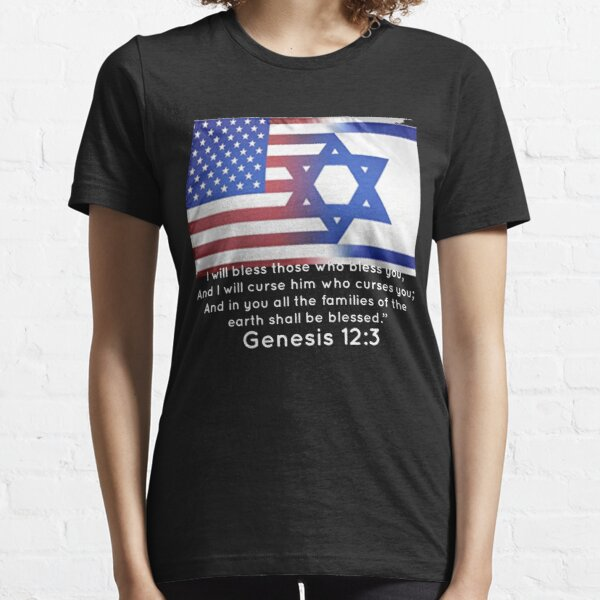 America Israel support tee shirt  Essential T-Shirt
