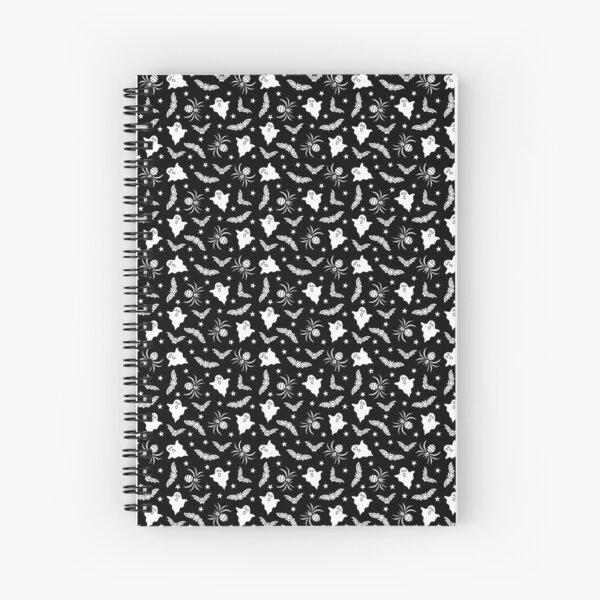 Spooky Halloween pattern Spiral Notebook