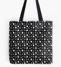 Spooky Halloween pattern Tote Bag