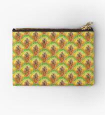 Pure Pineapple Pattern Zipper Pouch