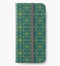 Green Triangle Pattern iPhone Wallet/Case/Skin
