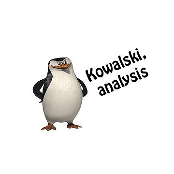 Kowalski, analysis by Seemushk