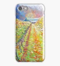 Autumn Vineyard iPhone Case/Skin