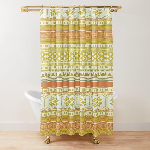 Primitif 101 by Hypersphere Shower Curtain
