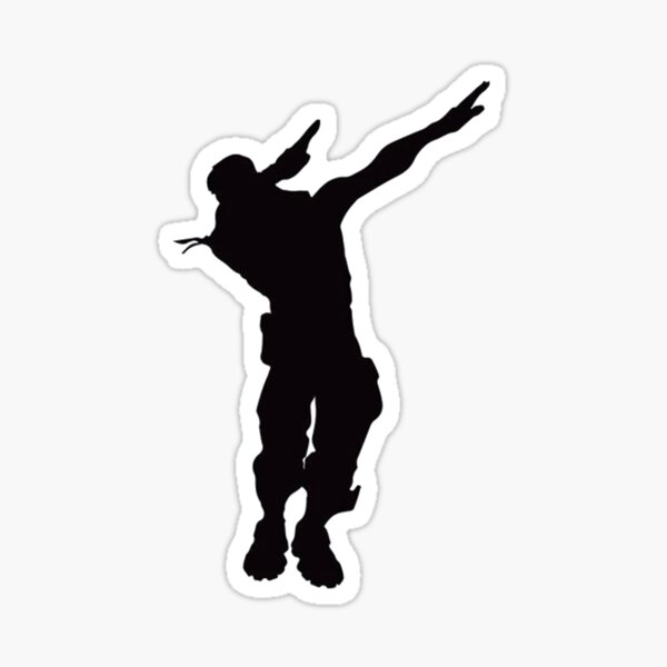 Dab Sticker