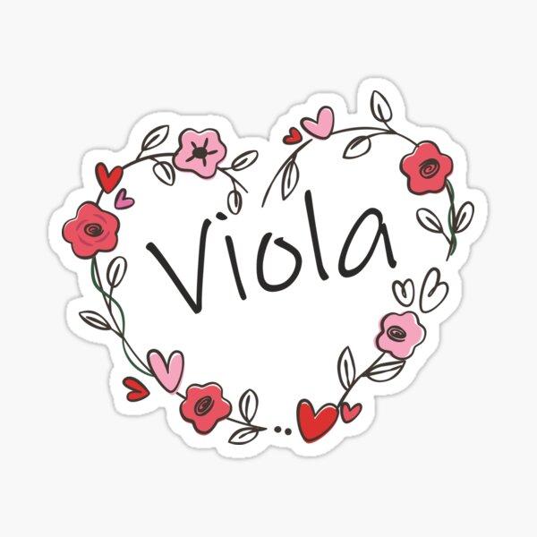 Viola Sticker