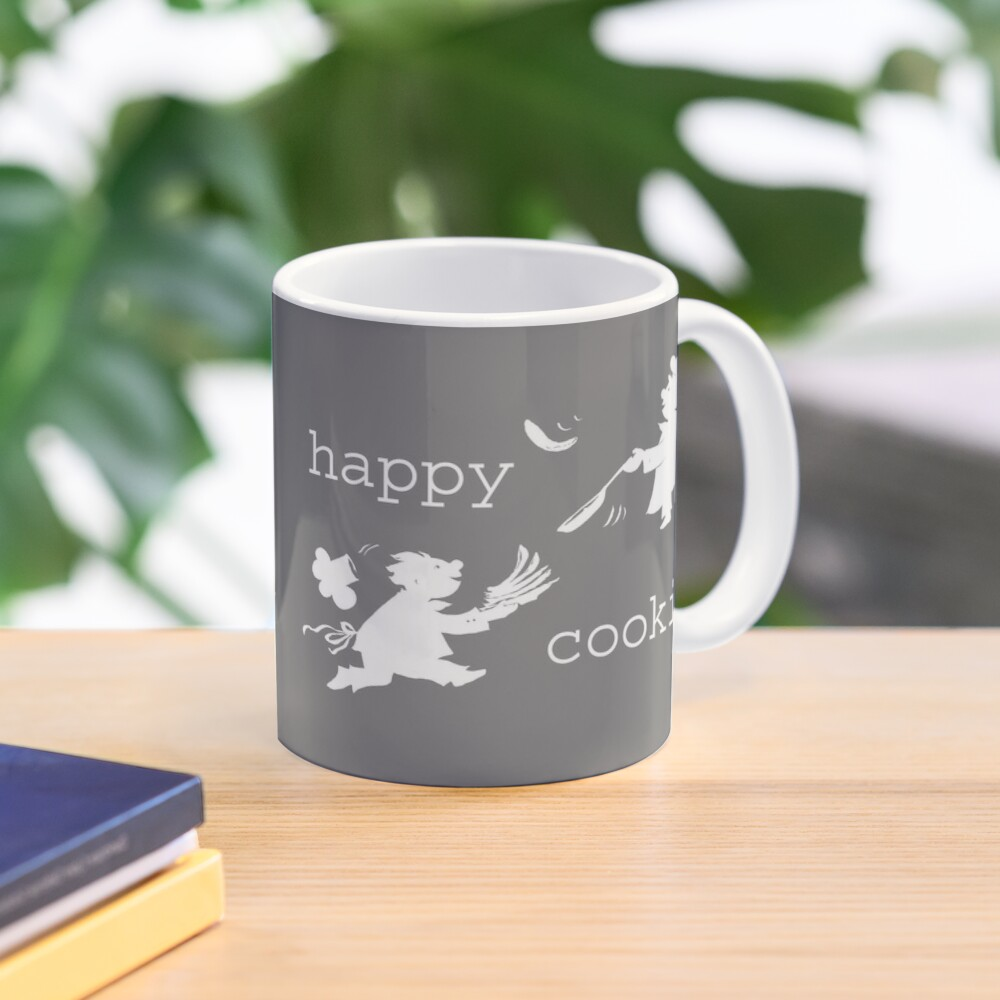 happy cooking team  · Delicious pancakes, happy cooks! (white) Mug