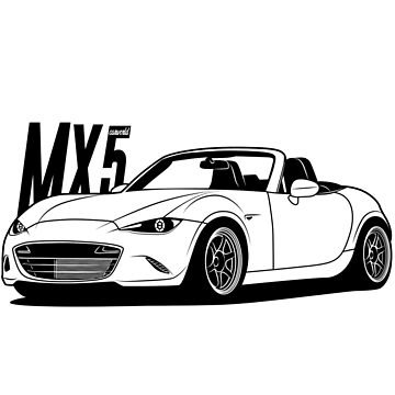 Mazda MX5 ND Best Shirt Design by CarWorld