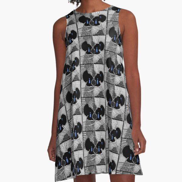 Embrace da BBW A-Line Dress
