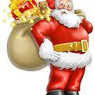 Santa Claus II by matheusfiorino