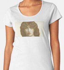 Dante Gabriel Rossetti's Jane Morris Colour Women's Premium T-Shirt