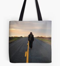 Traveling man Tote Bag