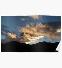 Icelandic Sunset Poster