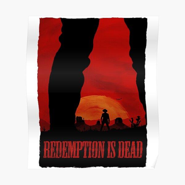 """""""La rédemption est morte"""" (texte) Poster"""