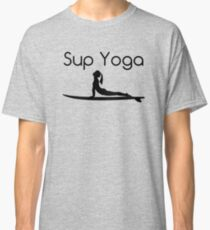 Sup Yoga Stand Up Paddle Sea Classic T-Shirt