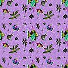 lilac pond pattern by hdettman