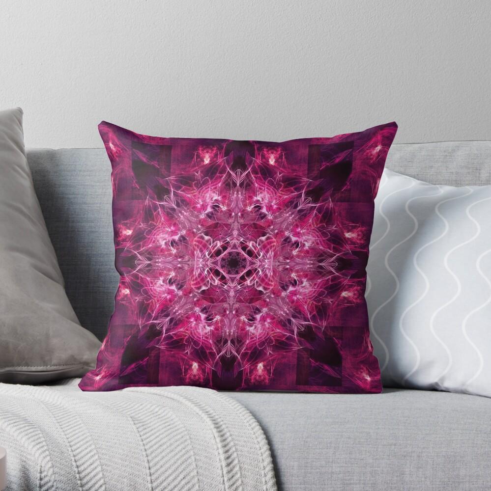 Dragonheart - Cerise Throw Pillow