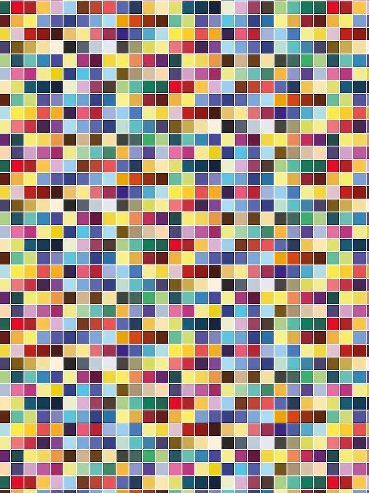 Pantone Color Palette - Pattern by mariomartin