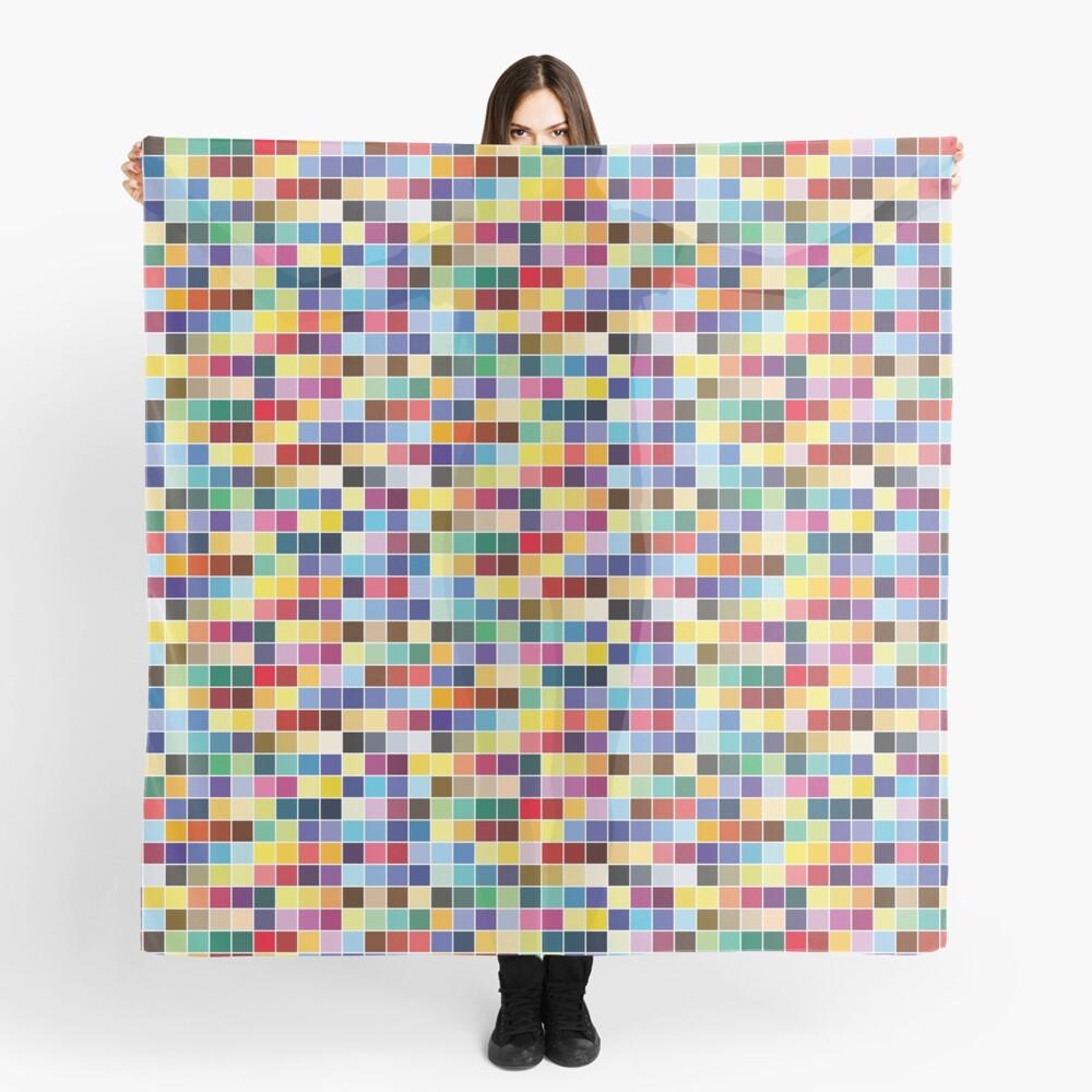 Pantone Color Palette - Pattern Scarf
