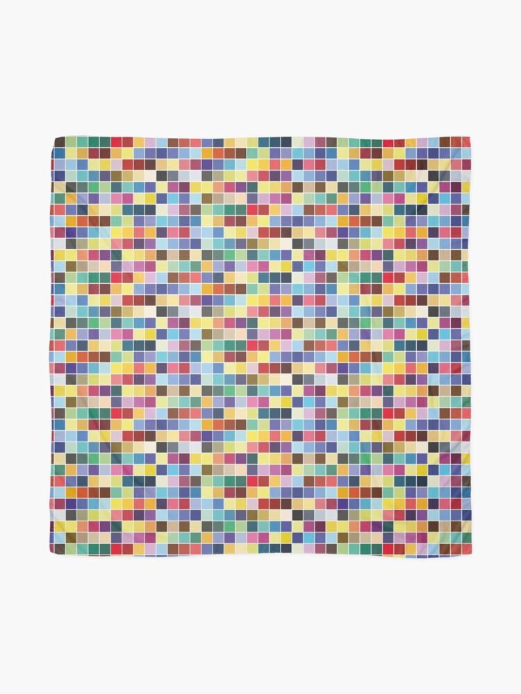 Alternate view of Pantone Color Palette - Pattern Scarf