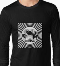 Cool koala retro style black white Long Sleeve T-Shirt
