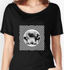 Cool koala retro style black white Women's Relaxed Fit T-Shirt
