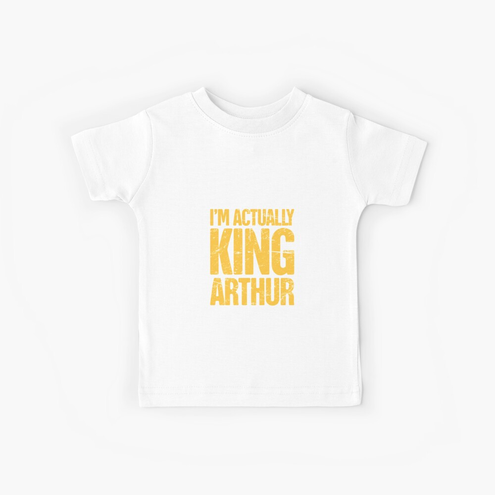 Funny King Arthur of Camelot Costume Gift Kids T-Shirt
