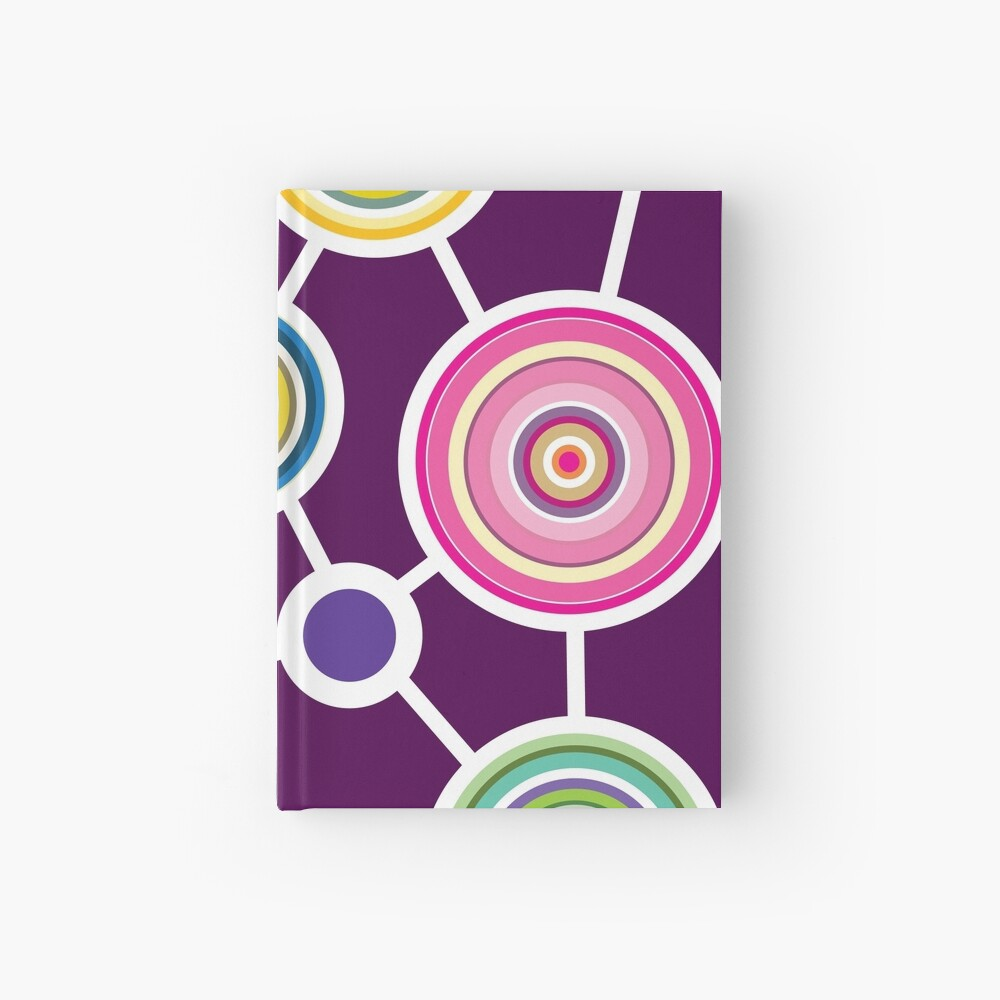 ROUND CONNECTION Hardcover Journal