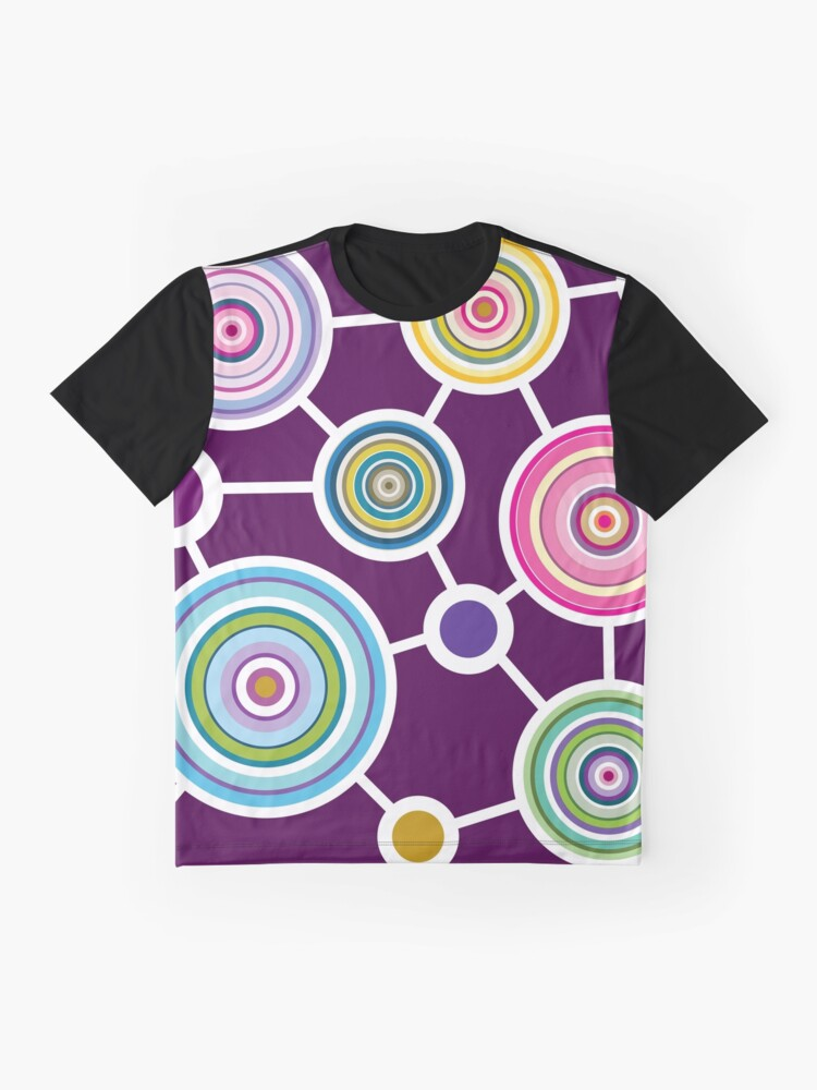 Alternate view of ROUND CONNECTION Graphic T-Shirt