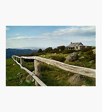 Craigs Hut, Victorian High Country Photographic Print