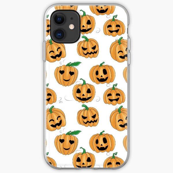 Cute Little Pumpkin Patch iPhone Soft Case