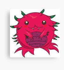 Dragon Fruit Dragon-Red Canvas Print
