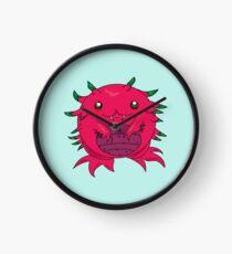 Dragon Fruit Dragon-Red Clock