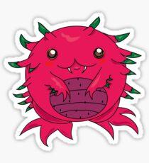 Dragon Fruit Dragon-Red Sticker