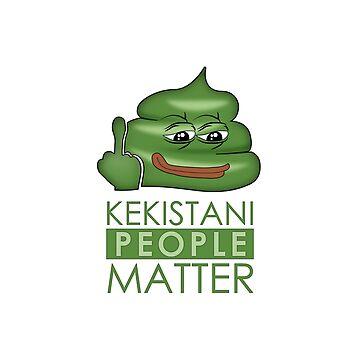 Kekistani People Matter von lucata