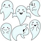 Cute Little Ghosts by Charmaine Bailey