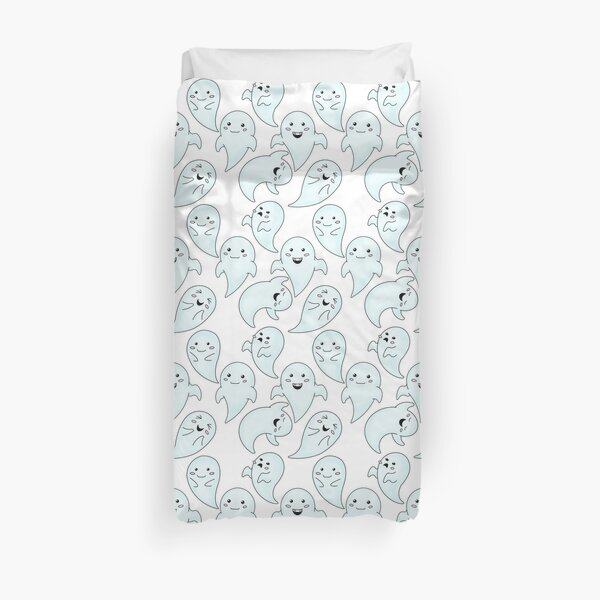 Cute Little Ghosts Duvet Cover