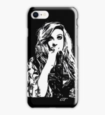 Mia Swier - Black & White iPhone Case/Skin