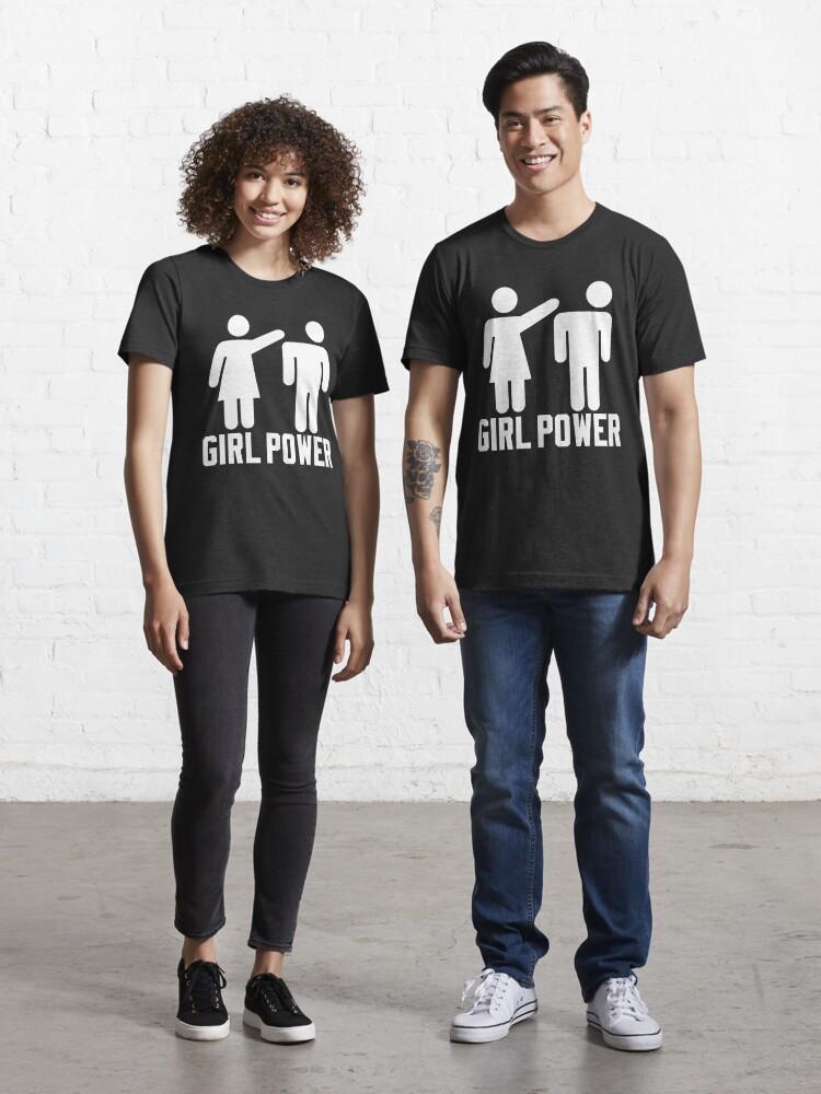 Feminist T-shirt Funny Woman Women Feminism Girls Rule Tee Shirt