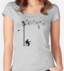 Wired Sound Women's Fitted Scoop T-Shirt