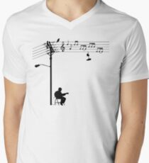 Wired Sound Men's V-Neck T-Shirt