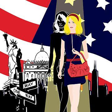 Girl in New York by haruka