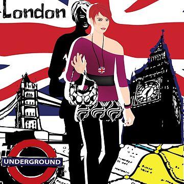 Girl in London by haruka