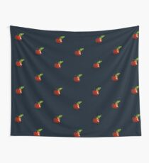 Painted Apple Wall Tapestry