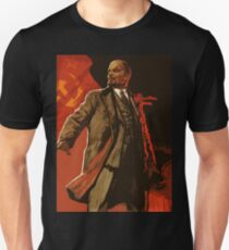 Lenin and us  - soviet union propaganda poster  T-Shirt