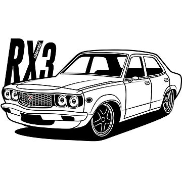 Mazda RX3 Best Shirt Design by CarWorld