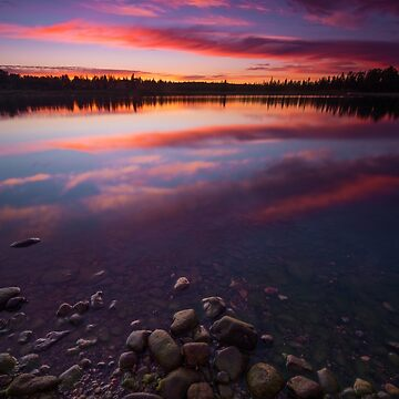 Sunset in Chapleau, Ontario by justinrusso