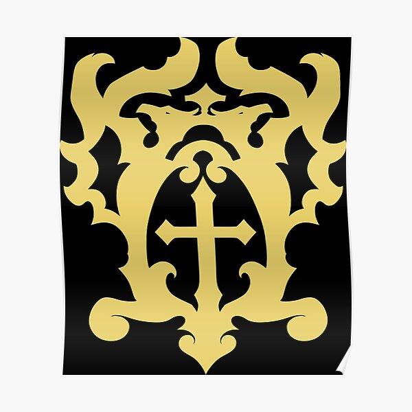 Belmont Family Crest Poster